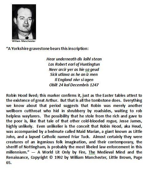 William Manchester Quotation
