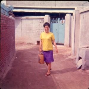 Outside her Brick Home, Uijeongbu-si, 1971